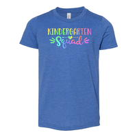 Print Melon Inc. T-Shirts S / Heather True Royal Kinder Squad Rainbow 213122