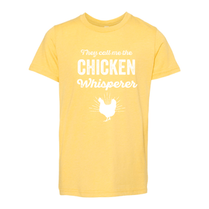 Print Melon Inc. T-Shirts S / Heather Yellow Gold chicken whisperer youth 299731