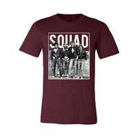 Print Melon Inc. T-Shirts S / Maroon Golden Squad 98430