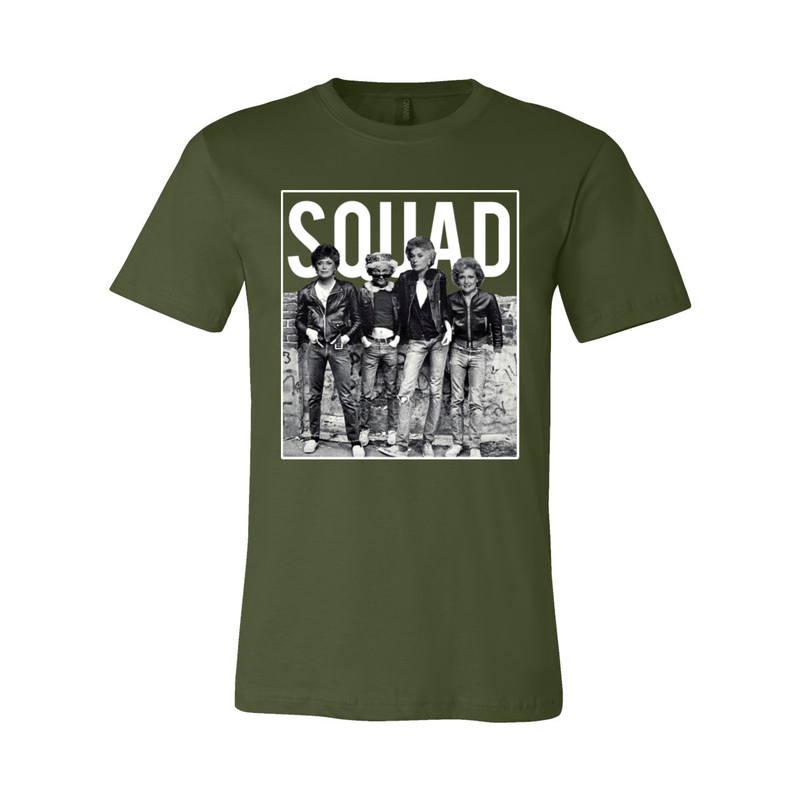 Print Melon Inc. T-Shirts S / Olive Golden Squad 98429