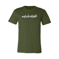 Print Melon Inc. T-Shirts S / Olive unfuckwithable 99454