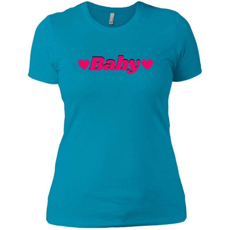 CustomCat T-Shirts Turquoise / X-Small Baby Hot Pink 829-8328-78264374-39612