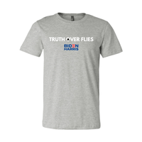 Print Melon Inc. T-Shirts XS / Athletic Heather truth over flies melon 372304
