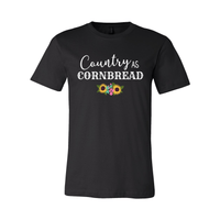 Print Melon Inc. T-Shirts XS / Black country cornbread 376030