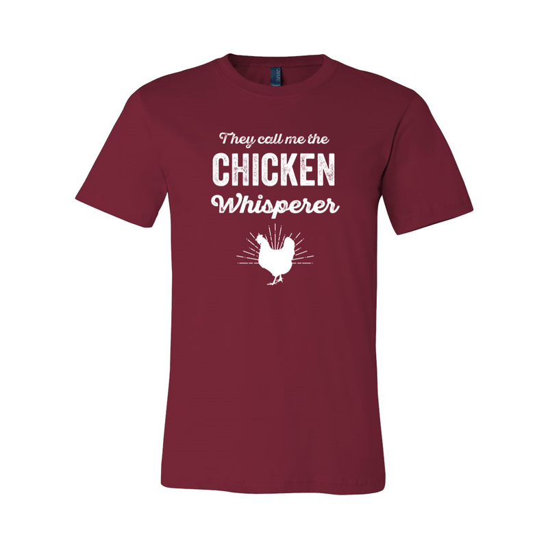 Print Melon Inc. T-Shirts XS / Cardinal chicken whisperer adult 422461