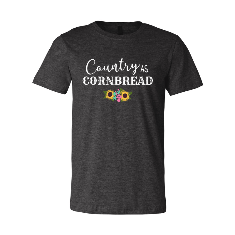 Print Melon Inc. T-Shirts XS / Dark Grey Heather country cornbread 376033