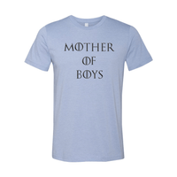 Print Melon Inc. T-Shirts XS / Heather Blue mother of boys 113950