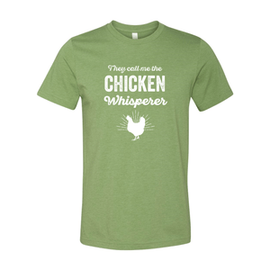Print Melon Inc. T-Shirts XS / Heather Green chicken whisperer adult 422460