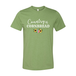 Print Melon Inc. T-Shirts XS / Heather Green country cornbread 376035
