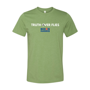 Print Melon Inc. T-Shirts XS / Heather Green truth over flies melon 372302