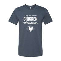 Print Melon Inc. T-Shirts XS / Heather Navy chicken whisperer adult 422456