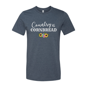 Print Melon Inc. T-Shirts XS / Heather Navy country cornbread 376031