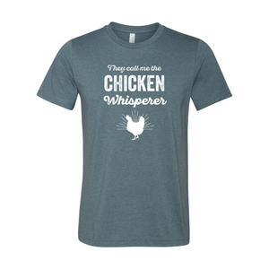 Print Melon Inc. T-Shirts XS / Heather Slate chicken whisperer adult 422457