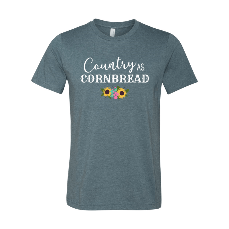 Print Melon Inc. T-Shirts XS / Heather Slate country cornbread 376032