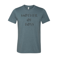 Print Melon Inc. T-Shirts XS / Heather Slate mother of boys 113947