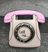 So Kawaii Shop Taupe / (20cm<Max Length<30cm) Kawaii Retro Phone Handbag 3113783-cream-20cm-max-length-30cm