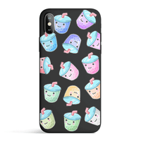 Pisces Tech Accessories Kawaii Boba - Colored Candy Cases for iPhone