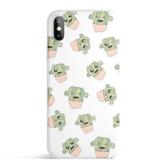 Pisces Tech Accessories Kawaii Cactus - Colored Candy Cases for iPhone