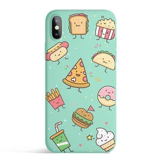 Pisces Tech Accessories Kawaii Junk Food - Colored Candy Cases Matte