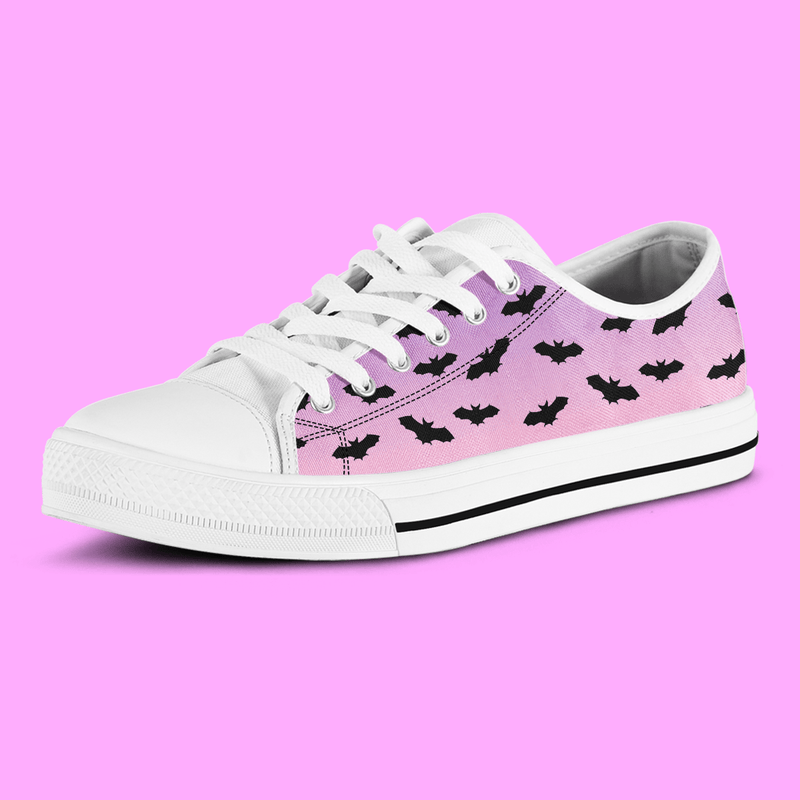 So Kawaii Shop The Kawaii Pastel Bats Low Sneaker
