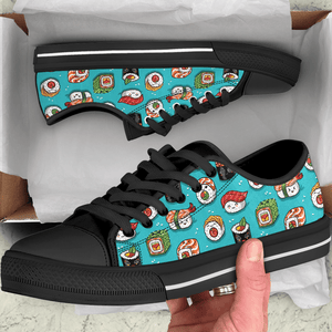 So Kawaii Shop The Kawaii Sushi on Blue Low Sneaker