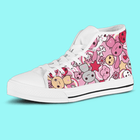 So Kawaii Shop The Original Kawaii Goth Bunny High Top Sneaker