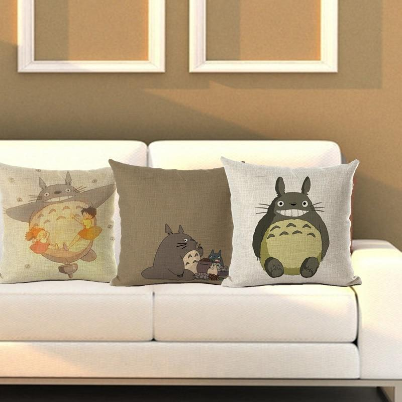 So Kawaii Shop Totoro Throw Cushion Cover