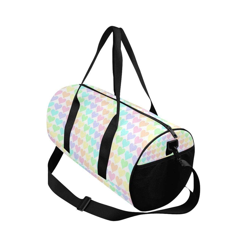 interestprint Travel Bags One Size The Kawaii Pastel Hearts Duffel Bag D1317645