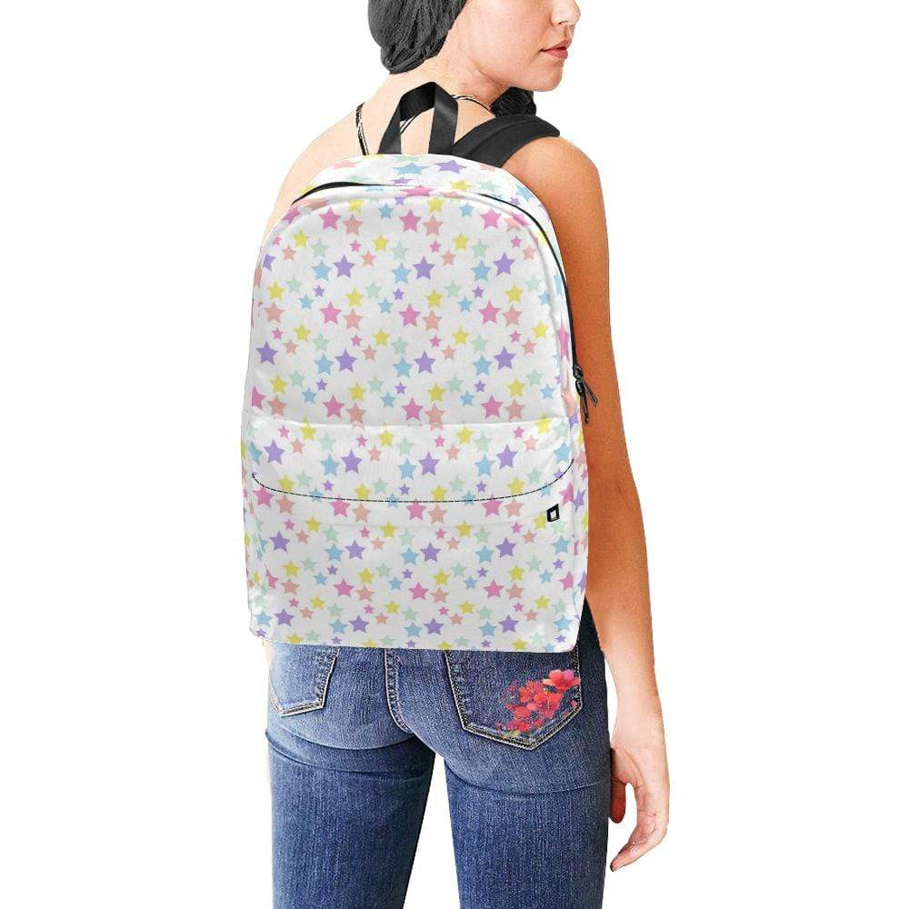 e-joyer Unisex Classic Backpack (1673) One Size Kawaii Pastel Stars 2 Backpack D3814197