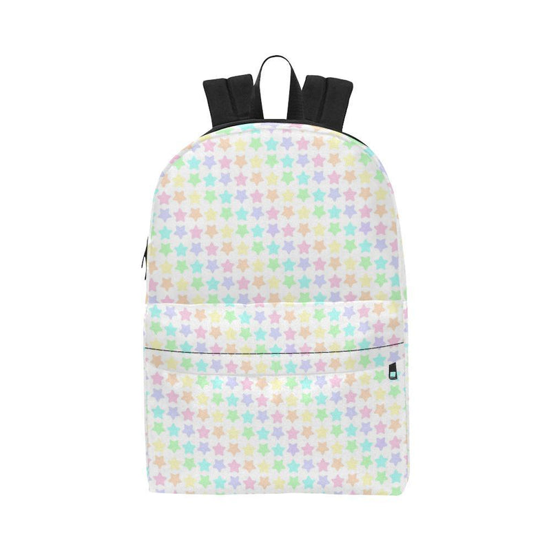 e-joyer Unisex Classic Backpack (1673) One Size Kawaii Pastel Stars Backpack D3814183