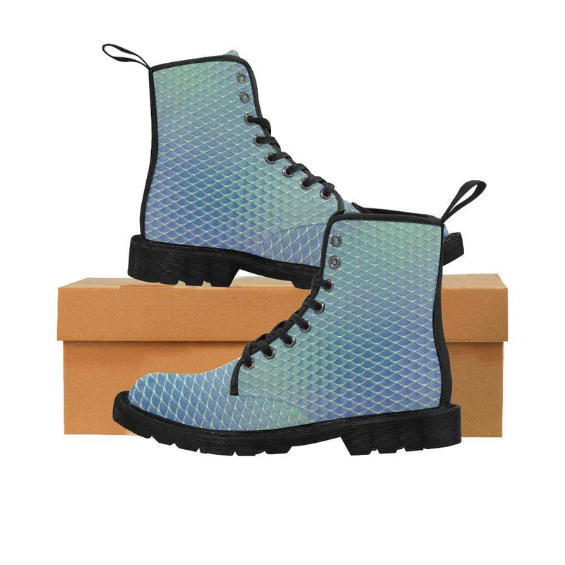 e-joyer US6.5 / Aqua Silver Kawaii Mermaid Boots D3841545