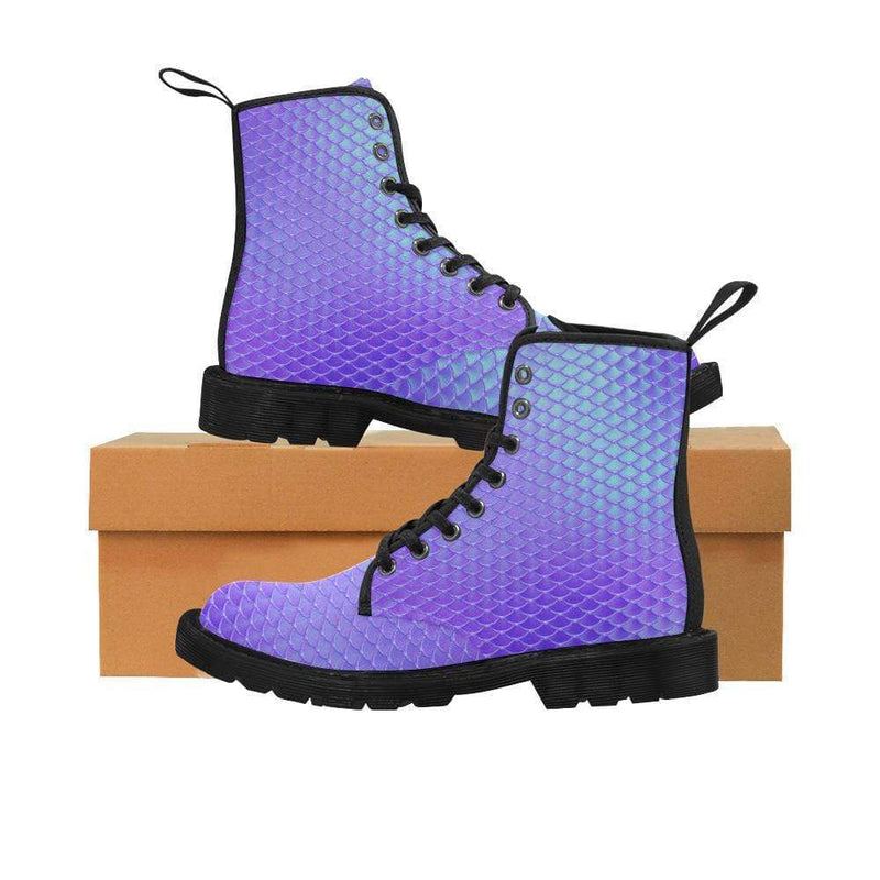 e-joyer US6.5 / Ultramarine Blue Kawaii Mermaid Boots D3841464