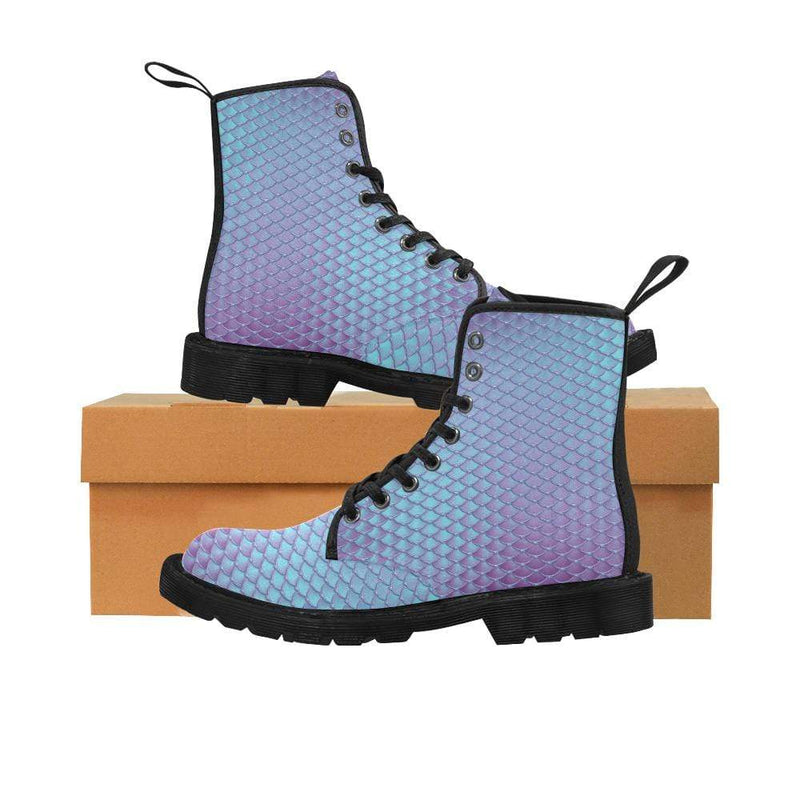 e-joyer US6.5 / Blue Violet Kawaii Mermaid Boots D3841537