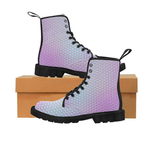 e-joyer US6.5 / Silver Amethyst Kawaii Mermaid Boots D3843573