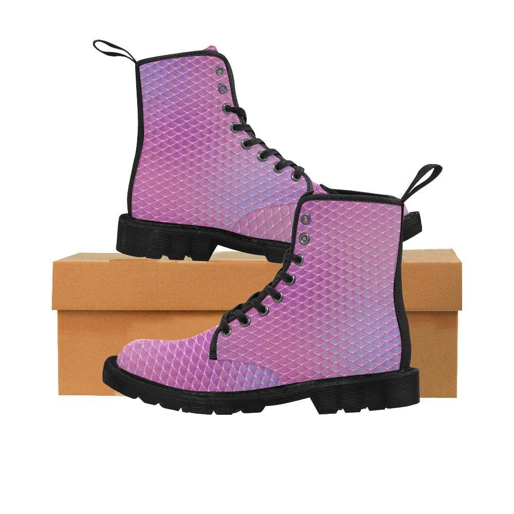 e-joyer US6.5 / Pink Silver Kawaii Mermaid Boots D3841442