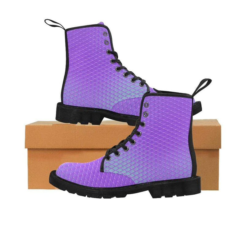 e-joyer US6.5 / Ultra Violet Kawaii Mermaid Boots D3841552