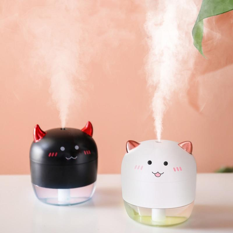 So Kawaii Shop White and Black Kawaii Mini Angel Kitty/Devil Kitty USB Humidifier 28502474-white-and-black