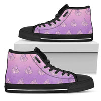 So Kawaii Shop Womens High Top - Black - Mystical Crystals Black / US5.5 (EU36) Mystical Crystals White PP.14511860