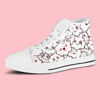 So Kawaii Shop Womens High Top - White - Kawaii Fluffy Clouds Sneaker / US5.5 (EU36) The Kawaii Fluffy Clouds Light High Top Sneaker PP.14341912