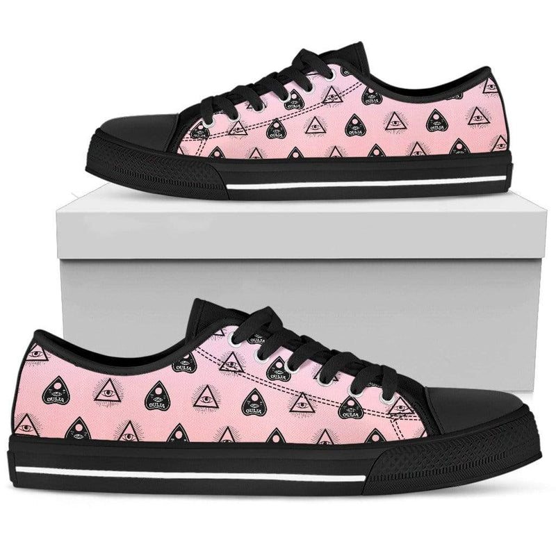 So Kawaii Shop Womens Low Top - Black - Black / US5.5 (EU36) The Kawaii Pastel Witchy Vibes Low Sneaker PP.14695011