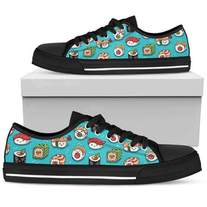 So Kawaii Shop Womens Low Top - Black - Black / US5.5 (EU36) White PP.14846771