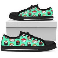 So Kawaii Shop Womens Low Top - Black - Minty sushi low / US5.5 (EU36) The Kawaii Minty Sushi Low Sneaker PP.16974631