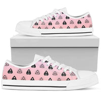 So Kawaii Shop Womens Low Top - White - White / US5.5 (EU36) The Kawaii Pastel Witchy Vibes Low Sneaker PP.14695002