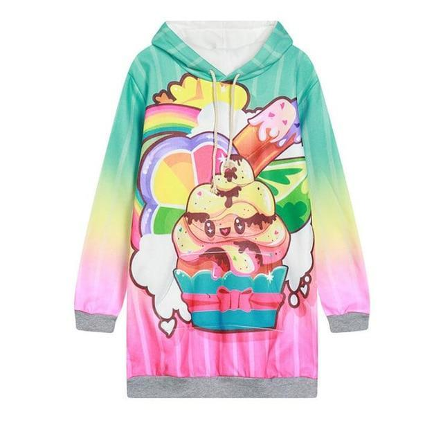 So Kawaii Shop WY0521 / One Size Kawaii Fleece Harajuku Style Hoodies 24379795-wy0521-one-size
