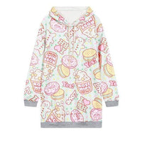 So Kawaii Shop WY0940 / One Size Kawaii Fleece Harajuku Style Hoodies 24379795-wy0940-one-size