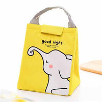 So Kawaii Shop Yellow Elephant Kawaii Insulated Lunch Bag 26996903-yellow