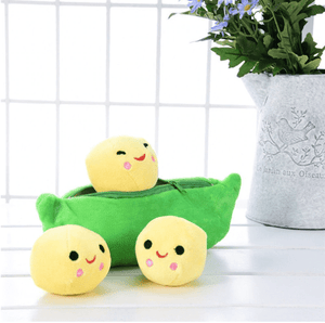 So Kawaii Shop Yellow Peas Kawaii Peas in a Pod Plush 32703595-as-shown