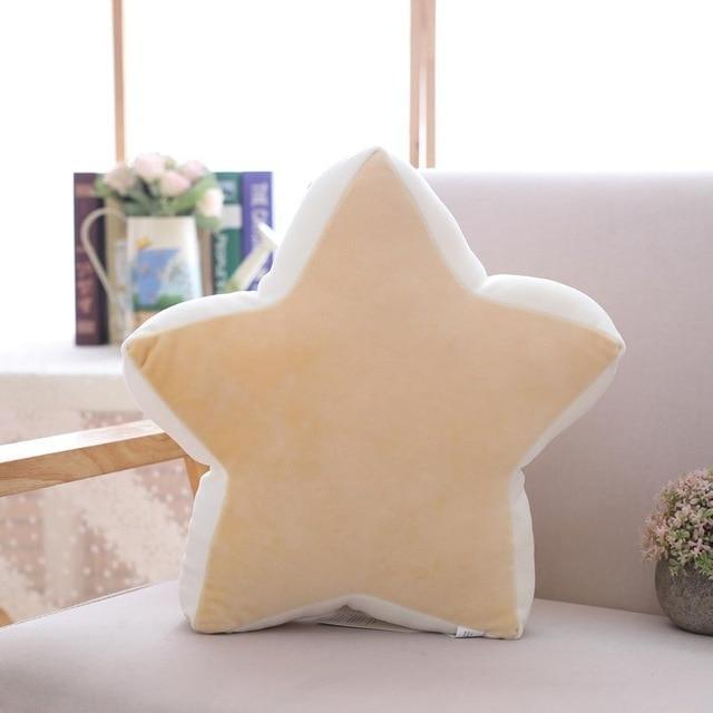 So Kawaii Shop yellow star 36x36cm Pastel Moonchild Pillows 19744073-yellow-star-36x36cm