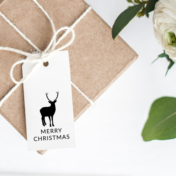 Christmas Gift Tags 'Merry Christmas Reindeer'