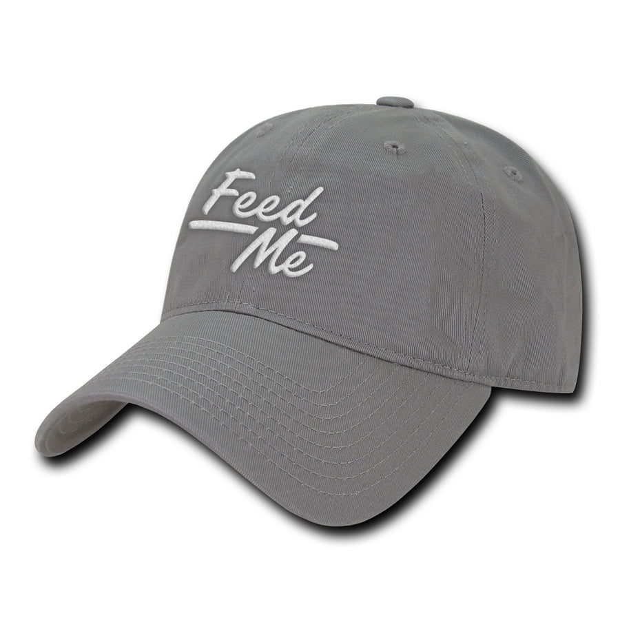 Feed Me - Dad Cap - Grey